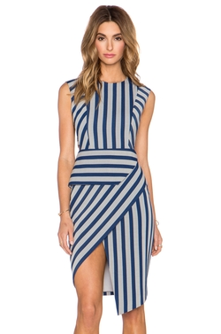 Cut Out Asym Dress by Michelle Mason in Mistresses
