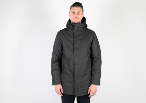 J25 - Coated Canvas Parka Jacket by Dunderdon in Prisoners