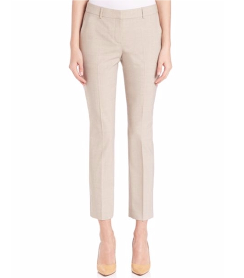 Testra Edition Stretch Wool Cropped Pants by Theory in Quantico - Season 2 Episode 1