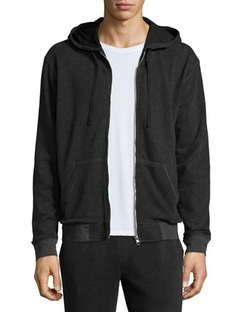 French Terry Zip-Up Hoodie by ATM in Modern Family