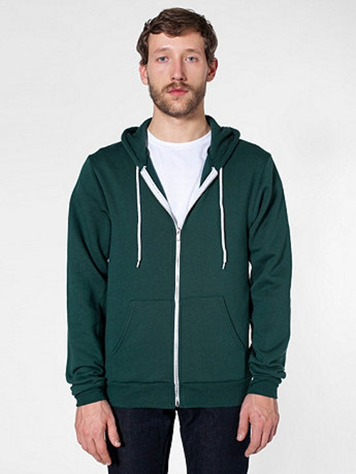 Flex Fleecezip Hoodie Jacket by American Apparel in Absolutely Anything