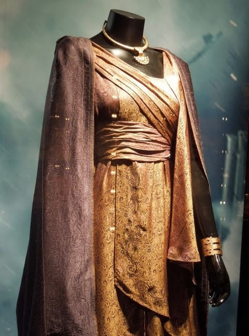 Custom Made Bronze Asgardian Dress (Jane Foster) by Wendy Partridge (Costume Designer) in Thor: The Dark World