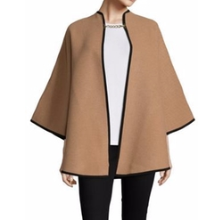 Wool & Cashmere Military Cape by Burberry in Grace and Frankie
