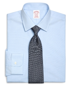 Non-Iron Madison Fit Spread Collar Dress Shirt by Brooks Brothers in The Longest Ride
