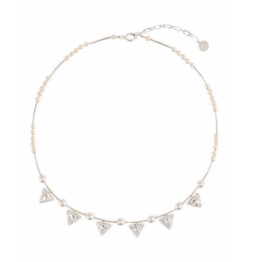 Beaded Detail Necklace by Reminiscence in Pretty Little Liars - Season 6 Episode 20