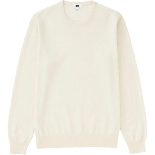 Men's Cashmere Crew Neck Sweater by Uniqlo in Scream Queens - Season 1 Episode 9