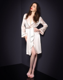 Classic Dressing Gown by Agent Provocateur in Sex and the City