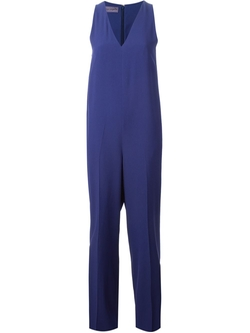Sleeveless V-Neck Jumpsuit by Emanuel Ungaro in American Horror Story
