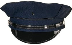 Uniform Hat - Eight Point Security/Police Style by Rothco in Shutter Island