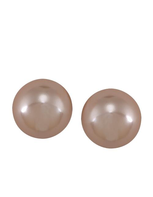 Making Me Blush Pearl Stud Earrings by Carolee in Fifty Shades of Grey