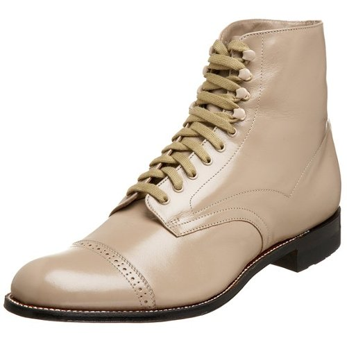 Madison Cap-Toe Boots by Stacy Adams in Drive