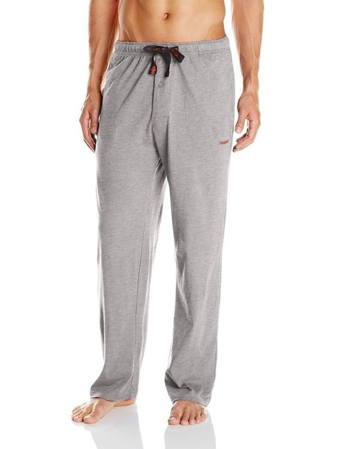 Men's Cotton Jersey-Knit Lounge Pants by Reebok in Black or White