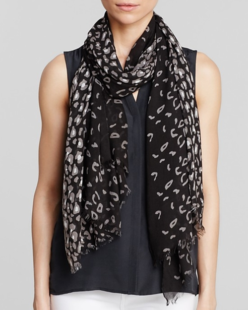 Animal Print Scarf by Aqua in Maze Runner: The Scorch Trials