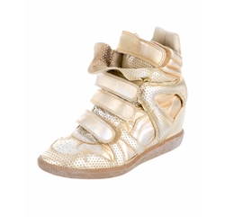 Metallic Bekett Sneakers by Isabel Marant in Empire
