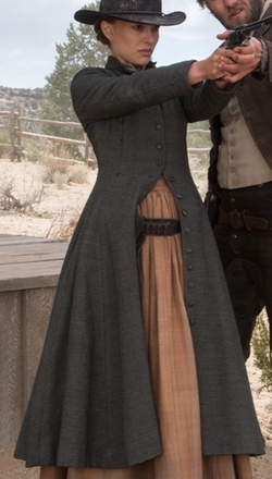 Custom Made Western Outfit by Catherine George (Costume Designer) in Jane Got A Gun