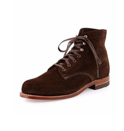 Mile Suede Boots by Wolverine in New Girl