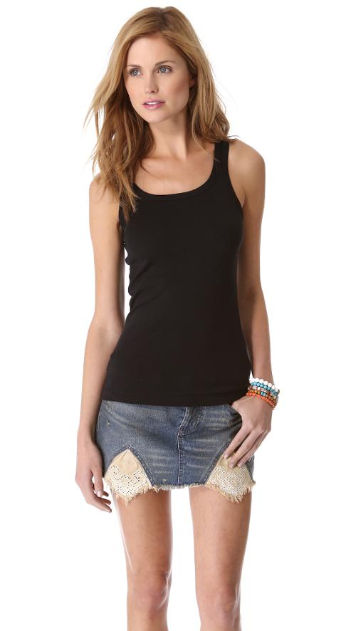 1x1 Tank Top by Splendid in Ride Along