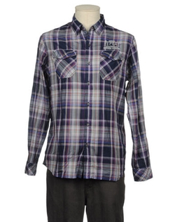Check Long Sleeve Shirt by Replay in The Mindy Project