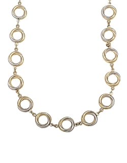 Circle Twist Necklace by Lord & Taylor in The Good Wife