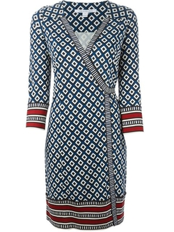 'Tallulah' Wrap Dress by Diane Von Furstenberg in Jessica Jones