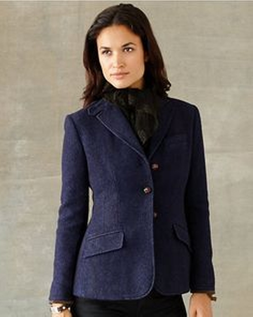 Blazer by Double RL and CO Ralph Lauren in Love the Coopers