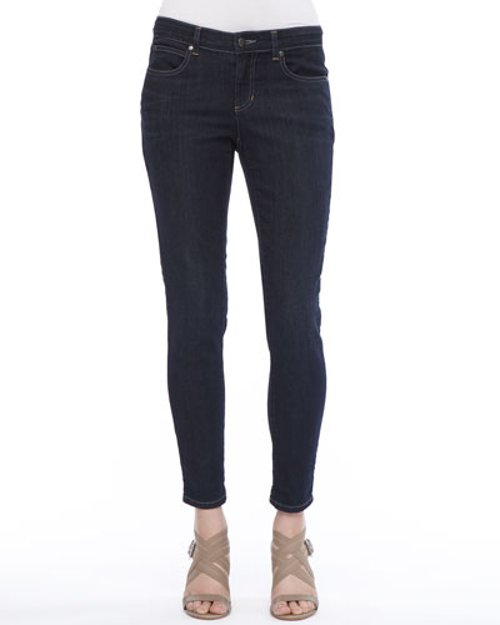 Organic Soft Stretch Skinny Jeans by Eileen Fisher in San Andreas