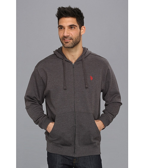 Full Zip Long Sleeve Hoodie by U.S. Polo Assn. in The Best of Me