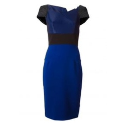 Lepas Fold-Pleated Crepe Dress by Roland Mouret in Pretty Little Liars