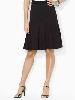 Pleated Stretch Skirt by RALPH LAUREN in This Is Where I Leave You
