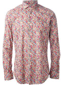 floral print shirt by GLANSHIRT in X-Men: Days of Future Past