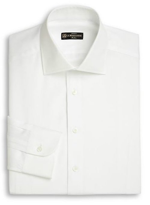 Cotton Linen Dress Shirt by Corneliani in A Most Violent Year
