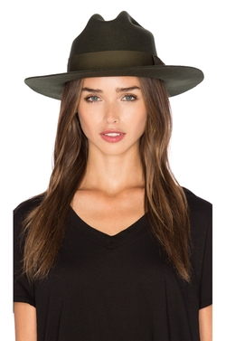 Tara Fedora Hat by Brixton in Pete's Dragon