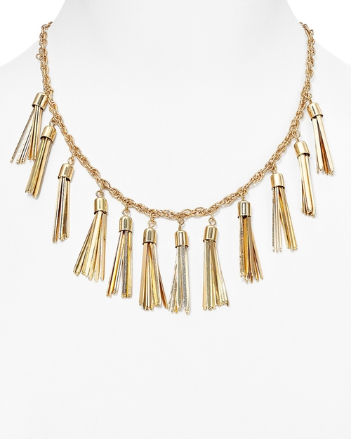 Tassel Strand Necklace by Baublebar in Fuller House