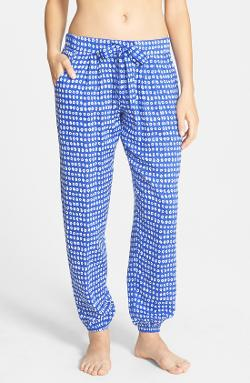 'Young & Free' Woven Pajama Pants by Kensie in No Strings Attached