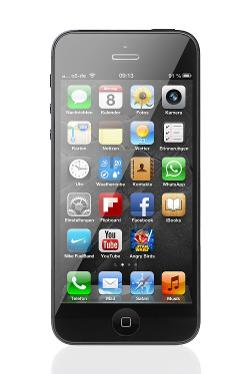 iPhone 5 by Apple in The Other Woman
