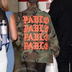 Pablo Camo Military Jacket by Yeezy in Keeping Up With The Kardashians