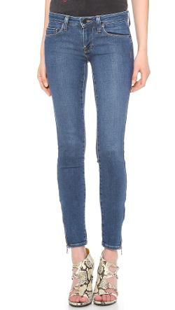 James Zipper Skinny Jeans by Genetic Los Angeles in Ted