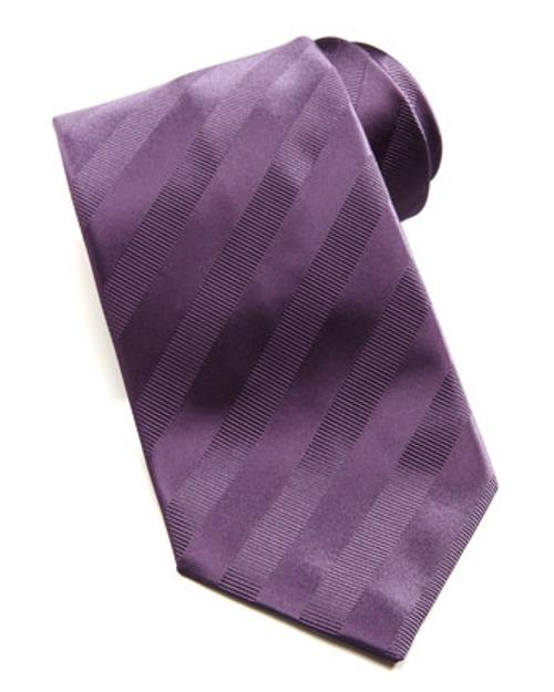 Tonal Stripe Silk Tie by Brioni in Million Dollar Arm