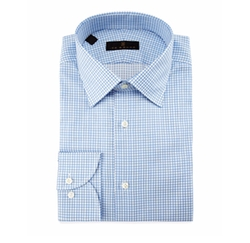 Check Dress Shirt by Ike Behar in House of Cards
