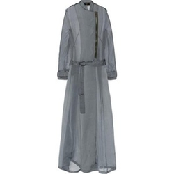 Silk-Mousseline Trench Coat by Haider Ackermann in Keeping Up With The Kardashians