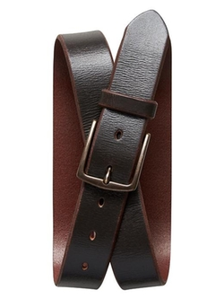 Distressed Leather Belt by Banana Republic in The Martian