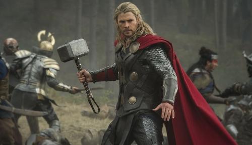 Custom Made 'Thor' Costume by Alexandra Byrne(Costume Designer) in Marvel's The Avengers