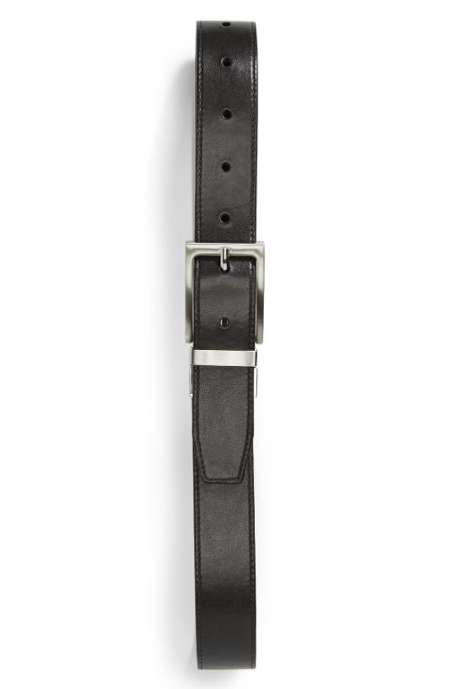 Reversible Leather Belt by Nordstrom in St. Vincent