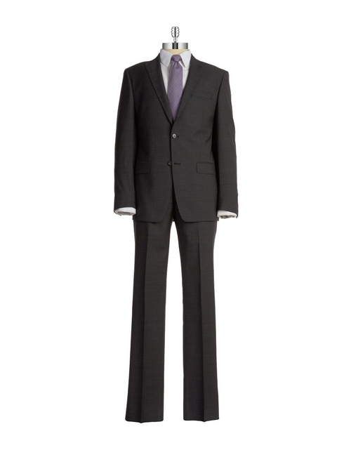 Two Piece Wool Suit by Michael Kors in Focus