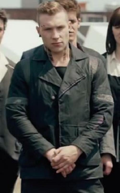 Custom Made Eric 'Dauntless' Jacket by Carlo Poggioli (Costume Designer) in Divergent