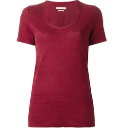 Scoop Neck T-Shirt by Isabel Marant Étoile in The Fate of the Furious