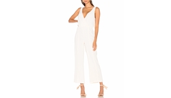 Gansel Jumpsuit by Privacy Please in Rosewood