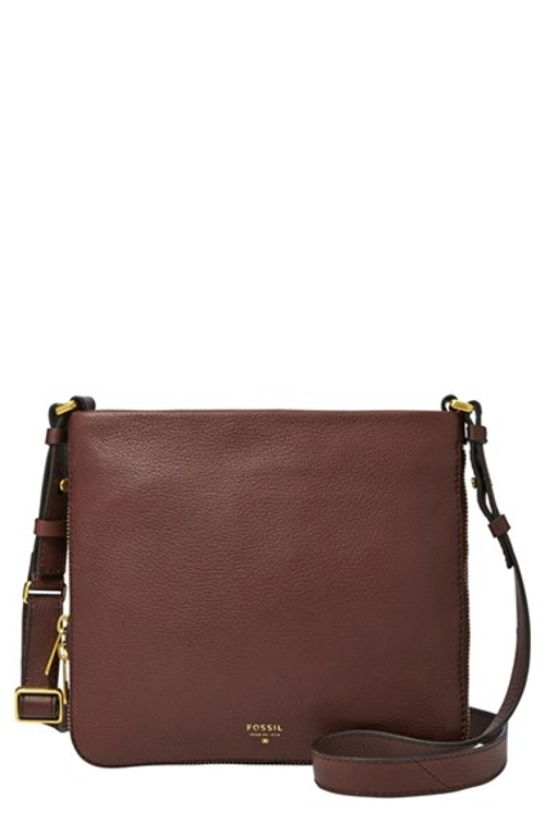 'Preston' Crossbody Bag by Fossil in Trainwreck