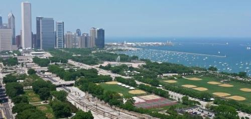 Grant Park Chicago, Illinois in Project Almanac