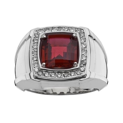 Men's Diamond and Ruby Stone Ring by Kohl's in Jurassic World